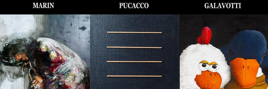 Personali Pucacco,Galavotti,Marin