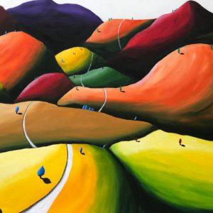 Tra le ombre di colore – serie cromocostruzioni