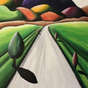 La strada – serie cromocostruzioni