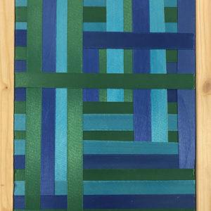 This blu e verde