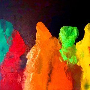 La danza dei colori – Cromocostruzione evoluzione