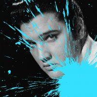 FAEP015_016 Impact Elvis Presley -serie Fame-2015-Stampa digitale su PVC-cm60x80